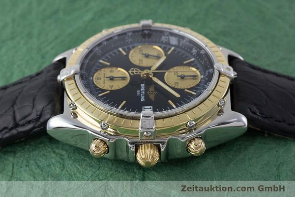 Used luxury watch Breitling Chronomat chronograph steel / gold automatic Kal. B13 ETA 7750 Ref. B13050  | 161559 05
