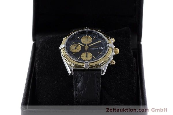 Used luxury watch Breitling Chronomat chronograph steel / gold automatic Kal. B13 ETA 7750 Ref. B13050  | 161559 07