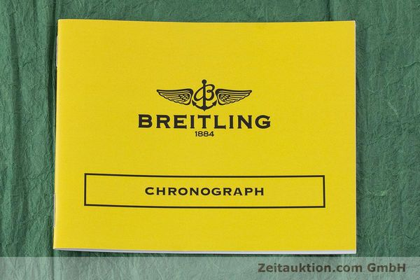 Used luxury watch Breitling Chronomat chronograph steel / gold automatic Kal. B13 ETA 7750 Ref. B13050  | 161559 11