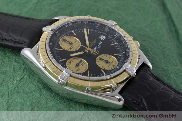 Used luxury watch Breitling Chronomat chronograph steel / gold automatic Kal. B13 ETA 7750 Ref. B13050  | 161559 14