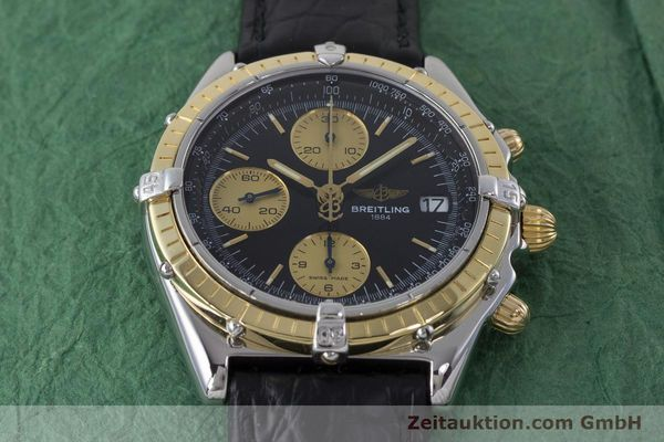 Used luxury watch Breitling Chronomat chronograph steel / gold automatic Kal. B13 ETA 7750 Ref. B13050  | 161559 15