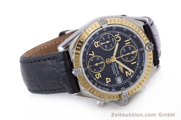 Used luxury watch Breitling Chronomat chronograph steel / gold automatic Kal. B13 ETA 7750 Ref. D13352  | 161560 03