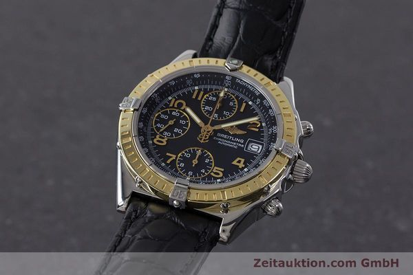 Used luxury watch Breitling Chronomat chronograph steel / gold automatic Kal. B13 ETA 7750 Ref. D13352  | 161560 04