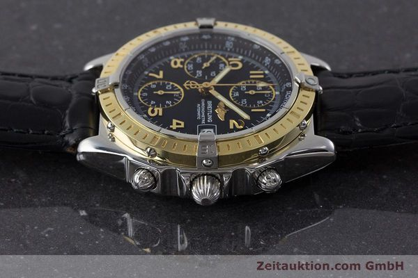 Used luxury watch Breitling Chronomat chronograph steel / gold automatic Kal. B13 ETA 7750 Ref. D13352  | 161560 05