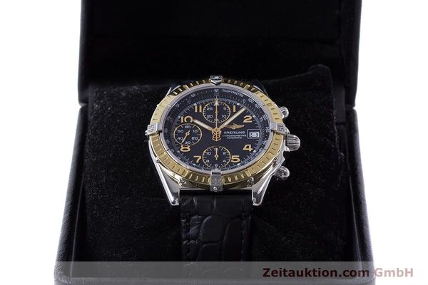 Used luxury watch Breitling Chronomat chronograph steel / gold automatic Kal. B13 ETA 7750 Ref. D13352  | 161560 07