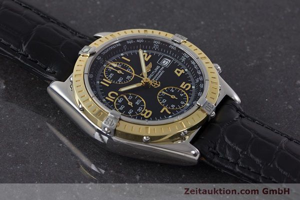Used luxury watch Breitling Chronomat chronograph steel / gold automatic Kal. B13 ETA 7750 Ref. D13352  | 161560 14