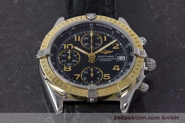 Used luxury watch Breitling Chronomat chronograph steel / gold automatic Kal. B13 ETA 7750 Ref. D13352  | 161560 15