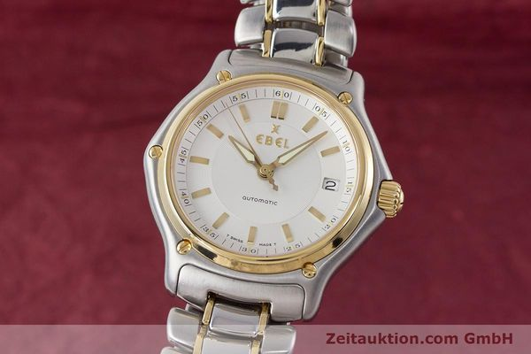 EBEL 1911 STEEL / GOLD AUTOMATIC KAL. 080 LWO 8810 LP: 2620EUR [161567]