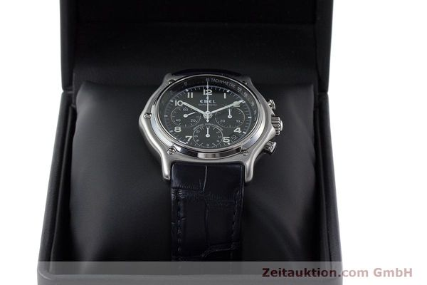 Used luxury watch Ebel 1911 chronograph steel automatic Kal. 137 Ref. E9137240  | 161568 07