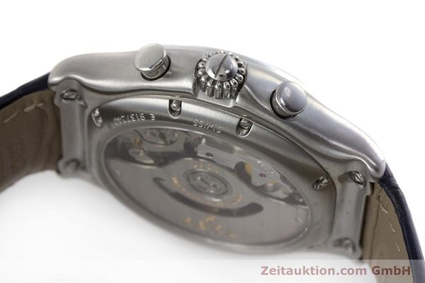 Used luxury watch Ebel 1911 chronograph steel automatic Kal. 137 Ref. E9137240  | 161568 08