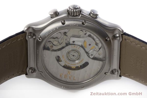 Used luxury watch Ebel 1911 chronograph steel automatic Kal. 137 Ref. E9137240  | 161568 09