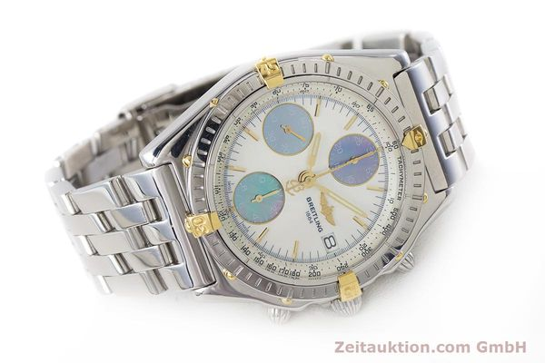 Used luxury watch Breitling Chronomat chronograph steel automatic Kal. B13 ETA 7750 Ref. D13050.1  | 161569 03