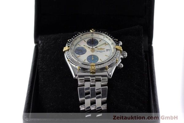 Used luxury watch Breitling Chronomat chronograph steel automatic Kal. B13 ETA 7750 Ref. D13050.1  | 161569 07