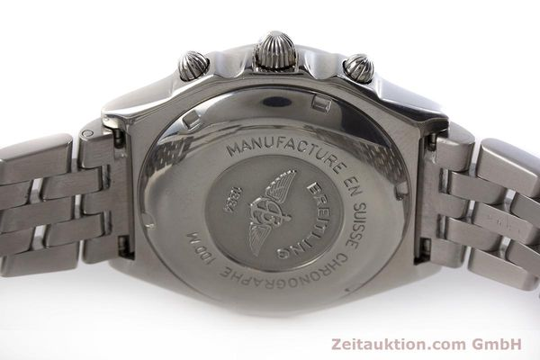Used luxury watch Breitling Chronomat chronograph steel automatic Kal. B13 ETA 7750 Ref. D13050.1  | 161569 09