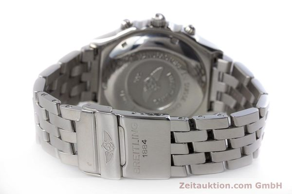 Used luxury watch Breitling Chronomat chronograph steel automatic Kal. B13 ETA 7750 Ref. D13050.1  | 161569 11