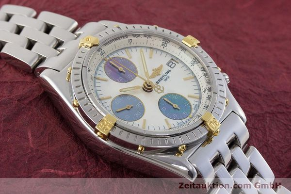Used luxury watch Breitling Chronomat chronograph steel automatic Kal. B13 ETA 7750 Ref. D13050.1  | 161569 15