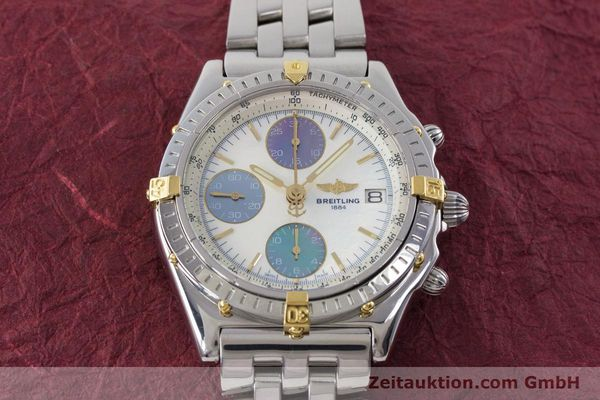 Used luxury watch Breitling Chronomat chronograph steel automatic Kal. B13 ETA 7750 Ref. D13050.1  | 161569 16
