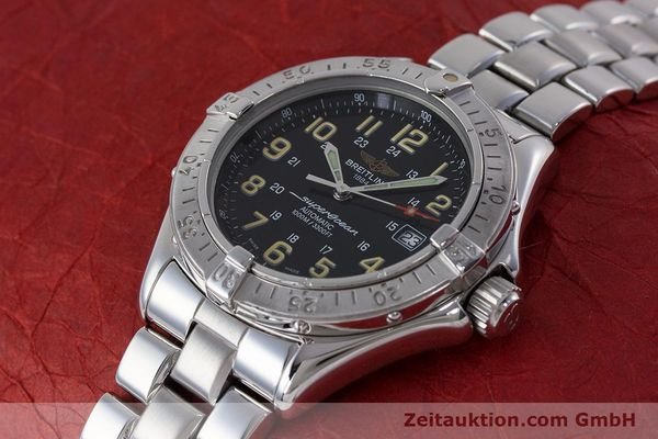 Used luxury watch Breitling Superocean steel automatic Kal. B17 ETA 2824-2 Ref. A17040  | 161571 01