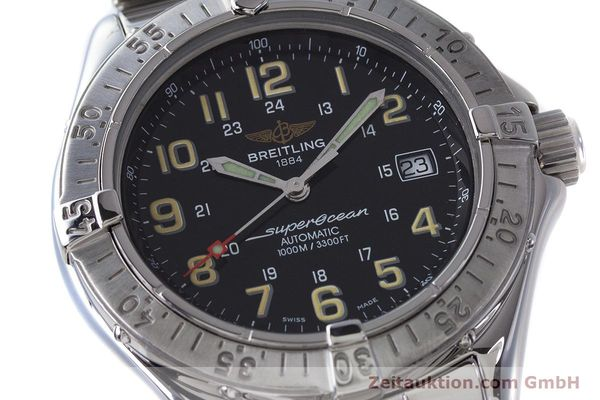 Used luxury watch Breitling Superocean steel automatic Kal. B17 ETA 2824-2 Ref. A17040  | 161571 02