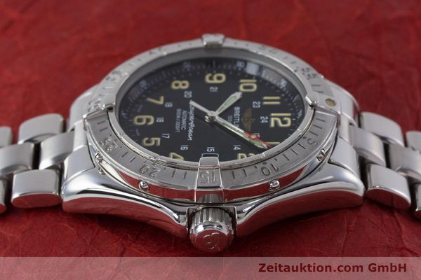 Used luxury watch Breitling Superocean steel automatic Kal. B17 ETA 2824-2 Ref. A17040  | 161571 05