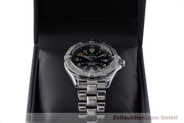 Used luxury watch Breitling Superocean steel automatic Kal. B17 ETA 2824-2 Ref. A17040  | 161571 07