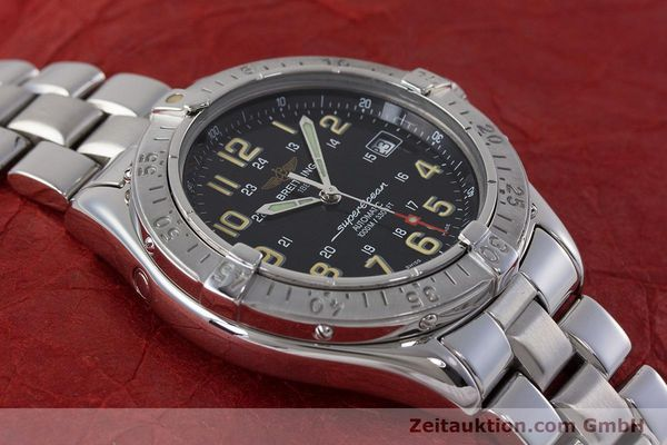 Used luxury watch Breitling Superocean steel automatic Kal. B17 ETA 2824-2 Ref. A17040  | 161571 13