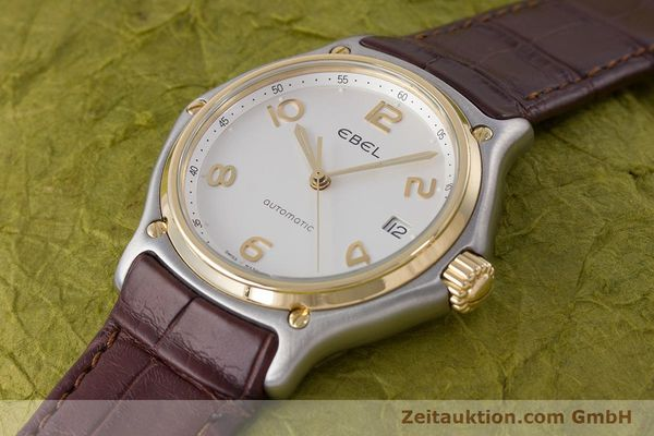 Used luxury watch Ebel 1911 steel / gold automatic Kal. 90 Ref. E1080241  | 161572 01