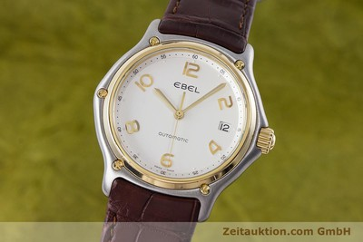 EBEL 1911 STEEL / GOLD AUTOMATIC KAL. 90 LP: 2620EUR [161572]