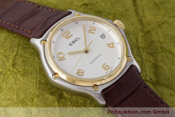 Used luxury watch Ebel 1911 steel / gold automatic Kal. 90 Ref. E1080241  | 161572 14