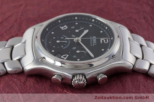 Used luxury watch Ebel 1911 chronograph steel automatic Kal. 137 Ref. E9137240  | 161574 05