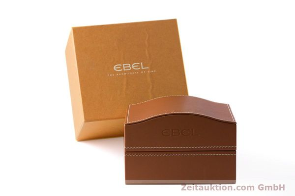 Used luxury watch Ebel 1911 chronograph steel automatic Kal. 137 Ref. E9137240  | 161574 06