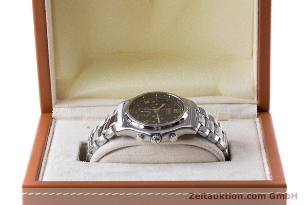 Used luxury watch Ebel 1911 chronograph steel automatic Kal. 137 Ref. E9137240  | 161574 07