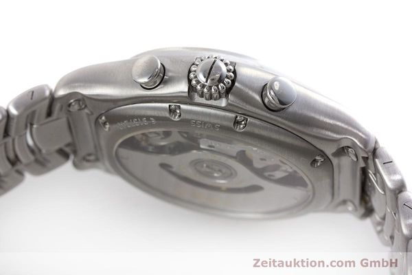 Used luxury watch Ebel 1911 chronograph steel automatic Kal. 137 Ref. E9137240  | 161574 08
