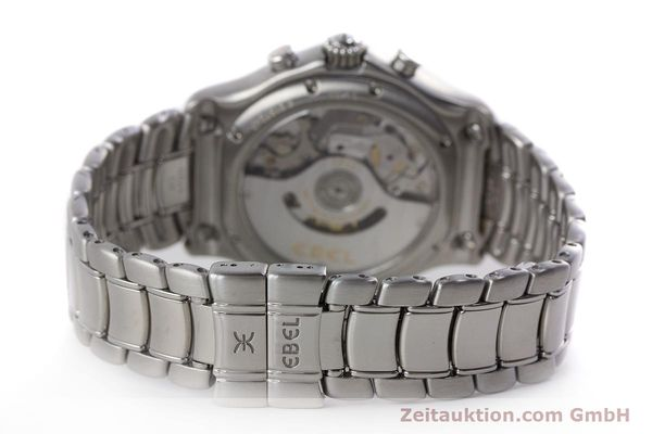 Used luxury watch Ebel 1911 chronograph steel automatic Kal. 137 Ref. E9137240  | 161574 11