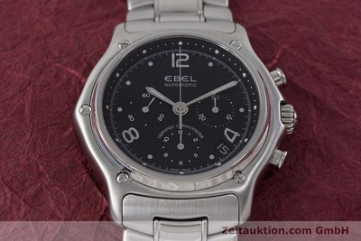 EBEL 1911 CHRONOGRAPH STEEL AUTOMATIC KAL. 137 [161574]