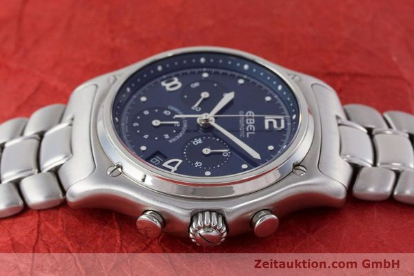 Used luxury watch Ebel 1911 chronograph steel automatic Kal. 137 Ref. E9137240  | 161575 05