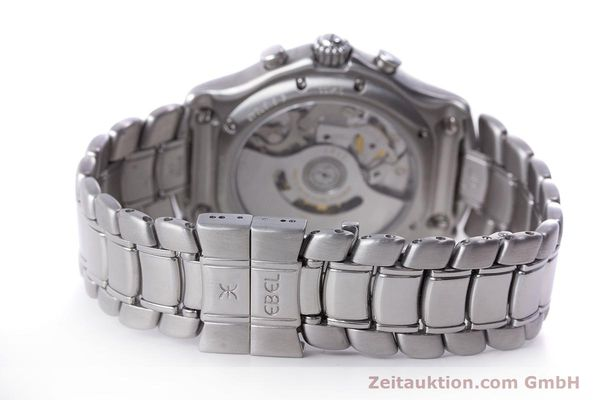 Used luxury watch Ebel 1911 chronograph steel automatic Kal. 137 Ref. E9137240  | 161575 11