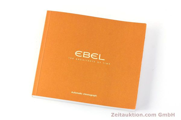 Used luxury watch Ebel 1911 chronograph steel automatic Kal. 137 Ref. E9137240  | 161575 12
