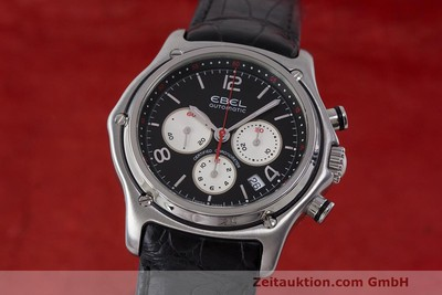 EBEL 1911 CHRONOGRAPH STEEL AUTOMATIC KAL. 137 [161577]