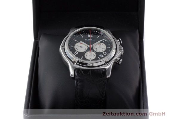 Used luxury watch Ebel 1911 chronograph steel automatic Kal. 137 Ref. E9137260  | 161577 07
