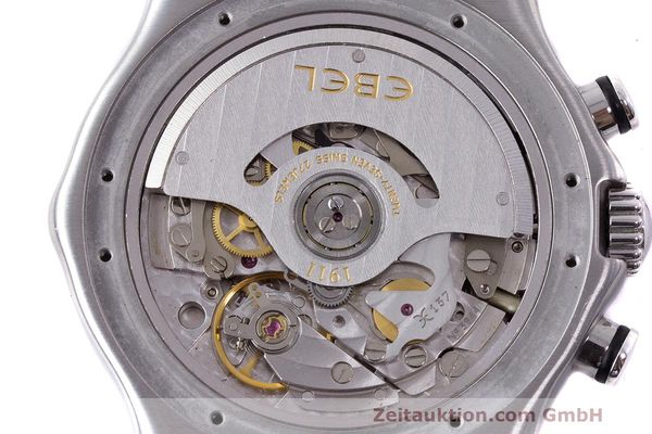 Used luxury watch Ebel 1911 chronograph steel automatic Kal. 137 Ref. E9137260  | 161577 10