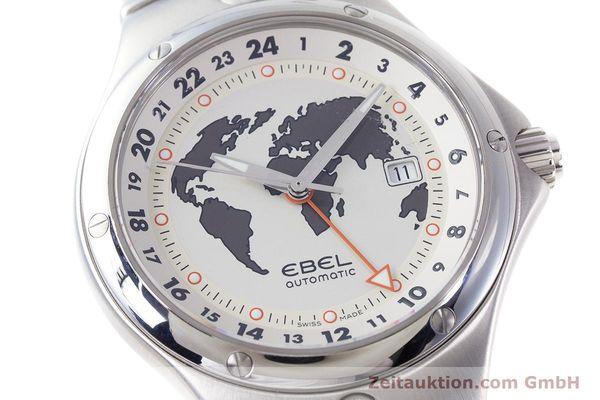 Used luxury watch Ebel Sportwave steel automatic Kal. E123 ETA 2893-2 Ref. E9123K51  | 161579 02