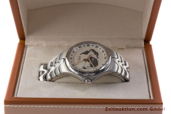 Used luxury watch Ebel Sportwave steel automatic Kal. E123 ETA 2893-2 Ref. E9123K51  | 161579 07