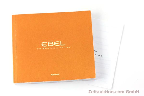 Used luxury watch Ebel Sportwave steel automatic Kal. E123 ETA 2893-2 Ref. E9123K51  | 161579 13