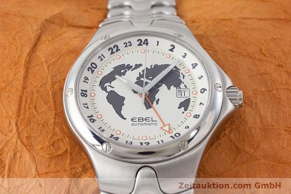 Used luxury watch Ebel Sportwave steel automatic Kal. E123 ETA 2893-2 Ref. E9123K51  | 161579 17