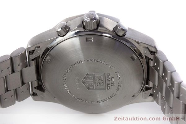 Used luxury watch Tag Heuer Professional chronograph steel automatic Kal. ETA 7750 Ref. CK2111  | 161582 09