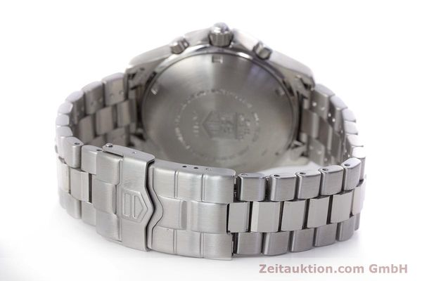 Used luxury watch Tag Heuer Professional chronograph steel automatic Kal. ETA 7750 Ref. CK2111  | 161582 11