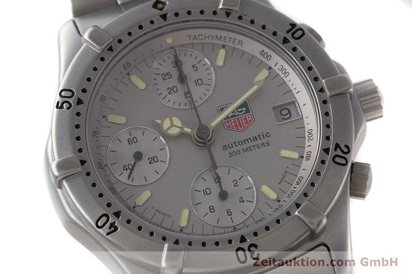 Used luxury watch Tag Heuer Professional chronograph steel automatic Kal. 4.90 Valj. 7750 Ref. 760.306  | 161583 02