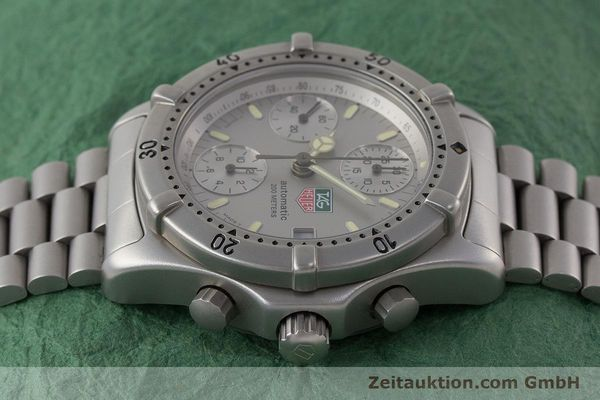 Used luxury watch Tag Heuer Professional chronograph steel automatic Kal. 4.90 Valj. 7750 Ref. 760.306  | 161583 05