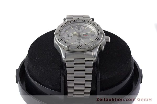 Used luxury watch Tag Heuer Professional chronograph steel automatic Kal. 4.90 Valj. 7750 Ref. 760.306  | 161583 07